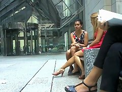Candid Amazing Legs Amp Feet Shoeplay By Blonde Pt Two
