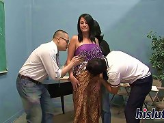 Curvaceous Indian Slut Pleasures Numerous Dicks