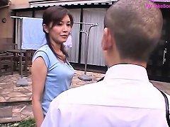 Japanese Mom Risa Sakamoto And Step Son 1 Mrbonham