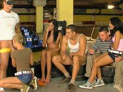 Group Sex Experience For Izabella De Cruz