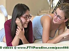 Orianna And Danielle Angelic Womans Having Fun And Talking