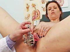Mature Needs Doctor To Look At Her Pussy