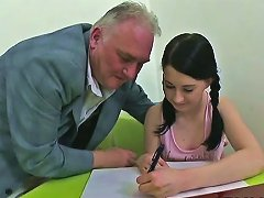 Sexually Excited Teacher Seducing Legal Age Teenager