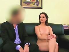 Femaleagent Anal Creampie For Cute Romanian Woman