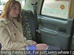 European Beauty Screwed On Cabs Backseat