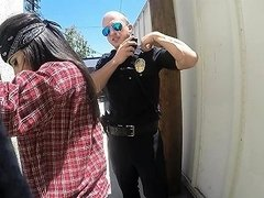 Cops Fuck Latina Gangster Outside Nuvid