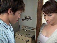 Hot Japanese MILF Yuuri Saejima In A Tough Screwing Action