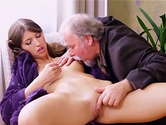Strong Stimulation From A Senior Cock