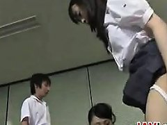 Bad Japanese Schoolgirls And A Teacher