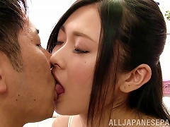 Smutty Asian Bimbo Murmurs Words Of Praise And Begging To Her Hubby In An Arousing Bed Sex