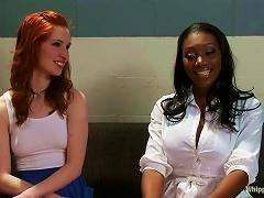 Ebony Nurse Nyomi Banxxx Is Torturing Her Patients Calico