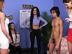 British Cfnm Sluts Wanking Group Of Cocks Drtuber