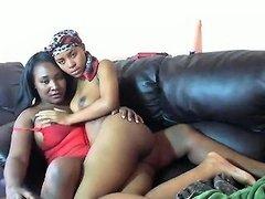 Big Black Boobs In Horny Ebony Action Nuvid