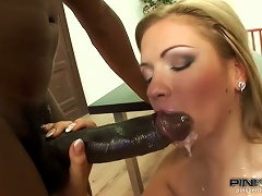 Fiery Interracial Anal Sex With A Booty Blondie Bibi