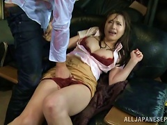 Rainy Day Sex With A Hot Japanese Girl In A Tight Skirt