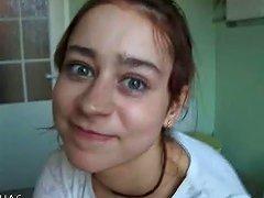 Czech Natasha At Water Closet