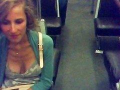 Downblouse Braless In Paris Subway Free Porn F6 Xhamster