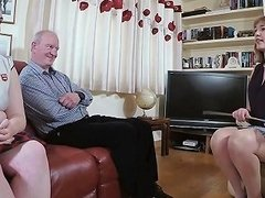 Bbw Daughter Spanked Hard Then Caned By Mistress