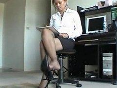 Ebony Business Woman Shoeplay Free Black Porn 64 Xhamster