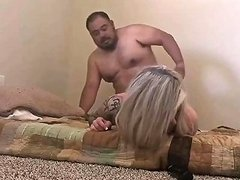Mexican Guy Fucks Blonde Escort Without Condom
