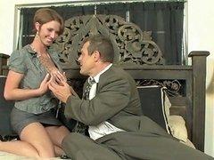 Busty Secretary Horny For Some Austrian Cock Free Porn 29