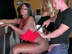 Brazzers Ebony And Ivory Anal Threesome