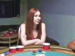 Young Girls Fuck On Poker Night