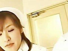 Teasing Asian Nurse