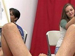 Hot Girls Shave Big Penis Movie Segment 1