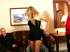 Sunny Jay Gets Fucked And Facialed In Hardcore Gangbang Clip