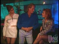 Three Slutty Girls Have Wild Sex In A Strip Club