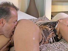 Mom Ass Licking And Pov Blowjob
