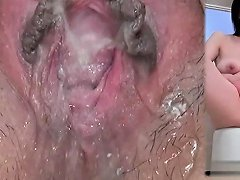 Busty Cowgirl Close Up Pussy Fuck