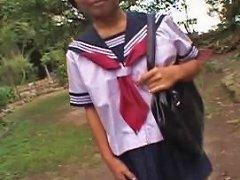 Kasai Mariko In School Uniform Free In School Porn Video F3