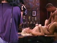 Hot Fucking On Porn Movie Set