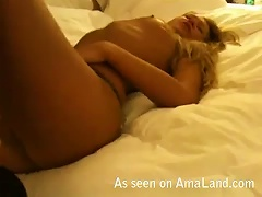 Sexy Blonde On Vacation Gets A Hot