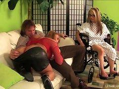Naughty Wife Treats Her Husband To A Splendid Hooker