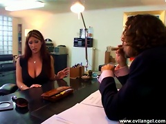 Two Horny Tarts Get Their Butts Smashed In A Foursome