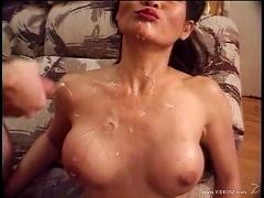 Maya Sato Banged And Takes Cum Shower In Threesome