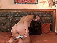 Tasty Brittney Skye Goes Hardcore In Unique Positions
