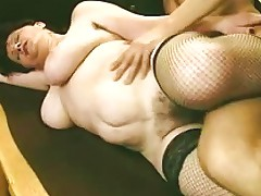 Busty Hairy Mature In Fishnets Fucks Porn A3 Xhamster