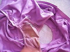 Jerking Off And Cumming To Virgin Teens Dirty Panties
