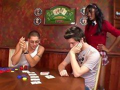 Serena Del Rio Enjoys Paying Her Idiot BF Poker Debt