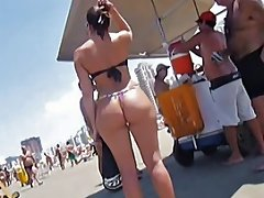 Delicious Butt In Thong On The Beach Hd Porn 07 Xhamster