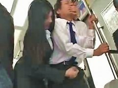 Asian Handjob In Public Bus Free Asian Public Porn Video 08