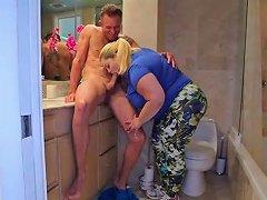 Huge Tit Blonde Bbw Sashaa Juggs W Dilf Tony D Porn 63