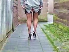 Bbw In Lingerie Teasing In A Backalley Nt Free Porn D5
