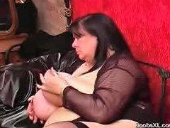 German Goth Bbw Shows Her Amazing Boobs Porn A9 Xhamster