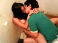Teen Couple Caught Fucking In College Toilet Free Porn 30