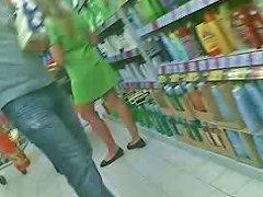 Upskirt Promoter Girl In Supermarket Romania 2 Porn 05